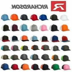 Richardson 112 Trucker Ball Cap Mesh Hat Adjustable Snapback