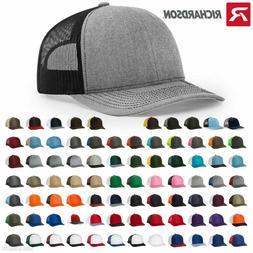 Richardson 112 Trucker Ball Cap Meshback Hat Snapback Cap Tr