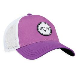 Callaway Golf 2018 Women's Adjustable Trucker Hat, Purple