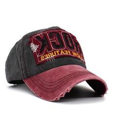 2019 Fashion Retro Baseball Cap Hole Casual <font><b>Hat</b>
