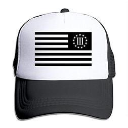 Pillow Hats 3 Percenter Flag Big Foam Trucker Baseball Cap M