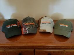 4x BNSF Railway Railroad Hat lot Dad Trucker hats camo mesh