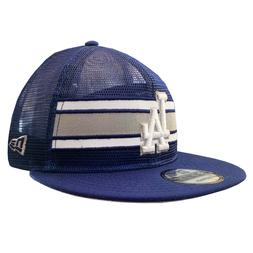 New Era 9FIFTY Los Angeles Dodgers MLB Authentic Trucker Sna