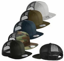 New Era 9FIFTY Mesh Snapback Hat Original Fit Trucker Cap Bl