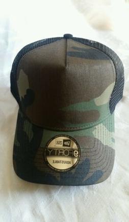 New Era 9FORTY Snapback Trucker Cap Blank Camouflage Army Ca