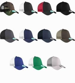 New Era 9Forty Trucker Snapback Mesh Back Hat / Cap NE205 BL