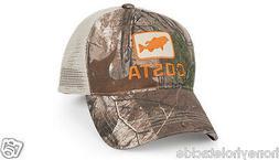 BRAND NEW COSTA DEL MAR BASS TRUCKER CAP HAT   REALTREE CAMO