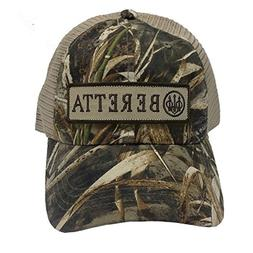 Beretta Men's Patch Trucker Hat, Real Tree Max Camo, One Siz