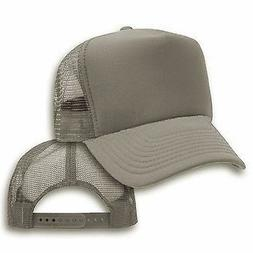 203b04a30 Big Size Gray Trucker Mesh Cap 2XL ...