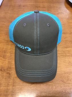 COSTA DEL MAR NEON TRUCKER TWILL HAT GRAPHIT/NEON BLUE BRAND