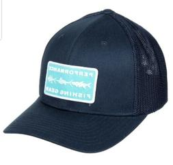 0735cd31c Columbia PFG Mesh Back Trucker Hat Collegiate Navy Grill Fis