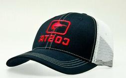 Costa Del Mar Marlin XL Fit Trucker Hat, Navy