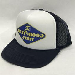 Good Year Tires Promo Trucker Hat Vintage 80's Mesh Back S