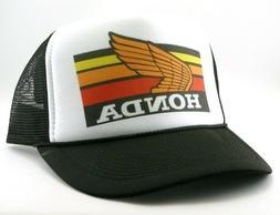 Honda Motocross Trucker Hat 80s mesh hat snap back hat black