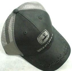 John Deere Hat, John Deere Cap, Trucker hat. 13080449 BK   N