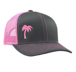 Lindo Trucker Hat Palm Tree 472b586fc52