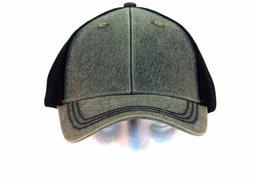 Mens Baseball Ball Hat Black Grey Trucker Mesh Curved Brim C