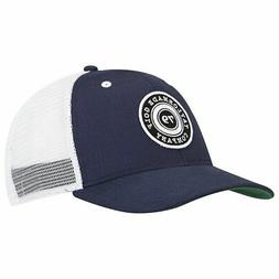 NEW TaylorMade Trucker Snapback Navy Blue/White Adjustable H