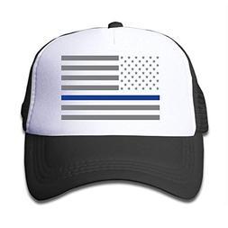NVJUI JUFOPL USA Flag Youth Toddler Mesh Hats Boy and Girls