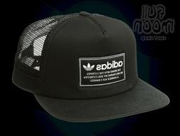 New Adidas Originals Patch Black Mens Snapback Trucker Cap H