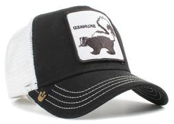 9fc98cbe67d78 New Goorin Bros. Skunked Animal Farm Trucker Snapback Hat Ca