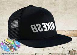 New NIKE SB Daily Use Mens Black Reflective Skateboard Snapb