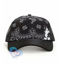 New Neff x Disney Mickey Bandana Trucker Snapback Cap Hat