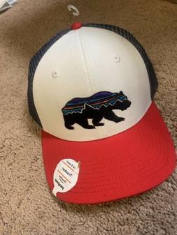 Patagonia Mens Fitz Roy Bear Trucker Snapback Cap/Hat 38200