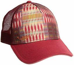 Prana La Viva Trucker Hat - Women's Carmine Desert Geo One S