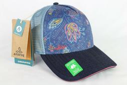 Prana La Viva Trucker Hat - Women's Denim Sierra One Size