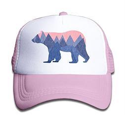 Waldeal Bear Mountain Youth Toddler Mesh Hats Boy and Girls