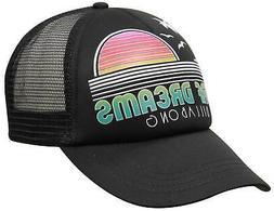 Billabong Across Waves Women's Trucker Hat - Off Black - New