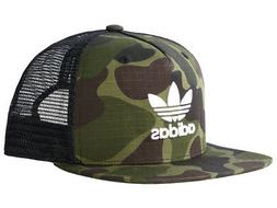 Adidas originals camo trucker cap hat mesh snap back Camoufl