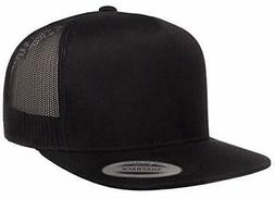 Adjustable Snapback Classic Trucker Hat by FlexFit #6006