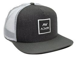 RVCA All the Way Meshback Trucker Style Adjustable Snapback