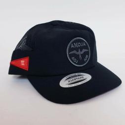 Hurley Aloha Snapback Cap - Curved Brim Cap Hat Snap Back Ad
