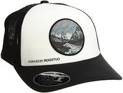 Outdoor Research Alpenglow Trucker Cap, Black, 1size