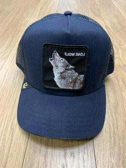 Men's Goorin Brothers 'Animal Farm - Wolf' Trucker Cap - Blu