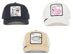 Goorin Bros Animal Farm Snapback Trucker Hat Cap Navy Shark,