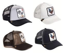 Goorin Bros Animal Farm Snapback Trucker Hat Cap Rooster Bla