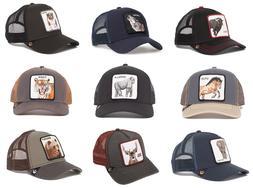 Goorin Bros Animal Farm Snapback Trucker Hat Gorilla,Wolf, S