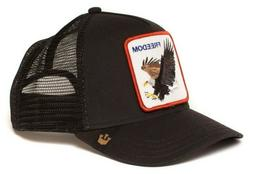 Goorin Bros Animal Farm Trucker Hat Black  USA Seller Brand