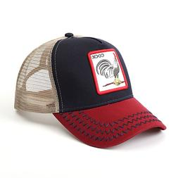 Goorin Bros. Animal Farm Trucker Snapback Hat Cap rooster Al