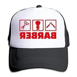 Pillow Hats Barber Tool Trucker Hat Mesh Cap Adjustable Snap