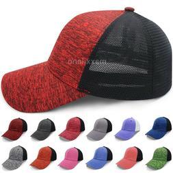 Baseball Cap Mesh FlexFit Trucker Hat Polo Style Caps for Me