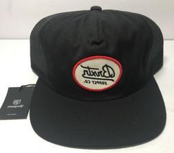 Brixton Bedford Mens Snapback Mesh Trucker Black Cap Hat Sup