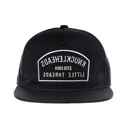 Black Knuckleheads Patch Trucker Hat Round