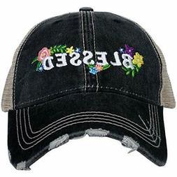 Katydid Blessed Women's Trucker Hat