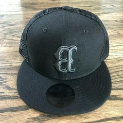 "Boston Red Sox B ""Blackout"" Trucker Hat  Men's Cap New Era 5"