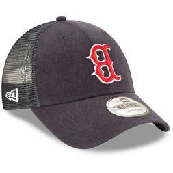 Boston Red Sox New Era Trucker 9FORTY Adjustable Snapback Ha